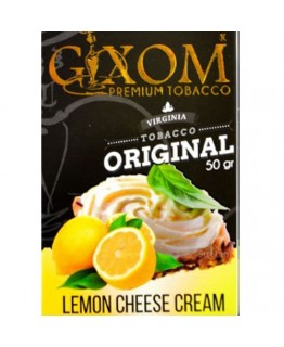 Табак GIXOM Lemon Cheese Cream 50 гр