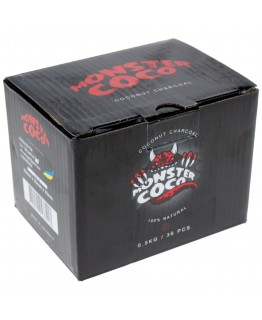 Уголь кокосовый для кальяна Monster Сoco 0,5 кг 25mm