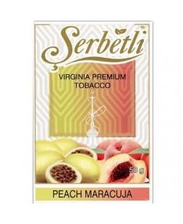 Табак SERBETLI Peach Maracuya 50gr