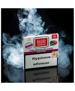 Табак акциз Basio Лесные Ягоды 100 гр