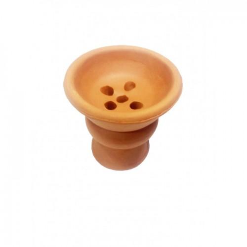 Чаша глиняная для кальяна 7х6,5х2см