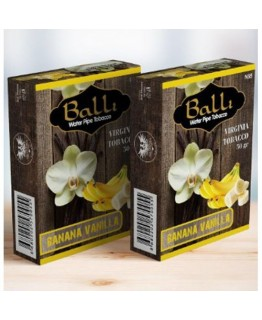 Табак BALLI Vanilla Banana 50 gr