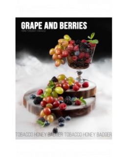 Табак Honey Badger Grape and Berries, Мild 40 гр