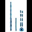 Кальян Kaya ELOX 635CE Clear XL KONIK Blue 4S - фото 3
