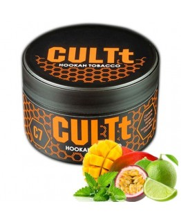 Табак CULTt C7 Lime Passion Fruit Mango Mint 100 гр